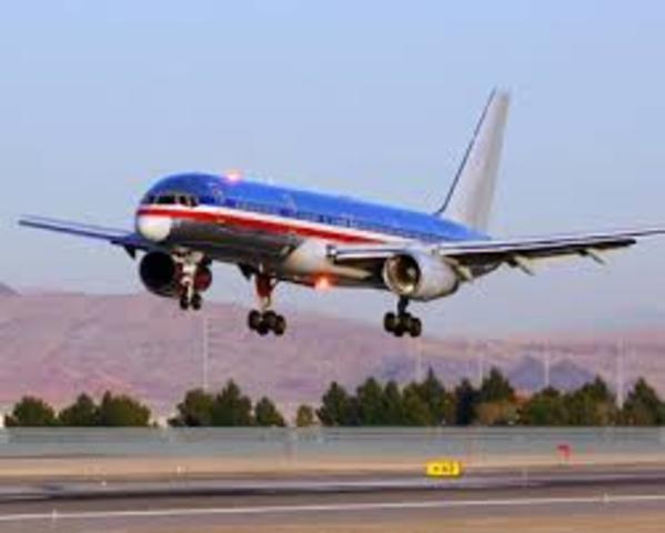 Flights arrive into Phoenix