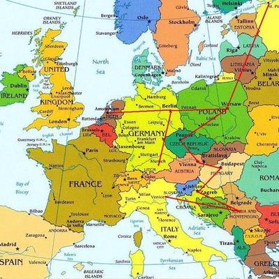 Europa desde 1950 timeline