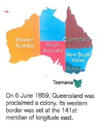 Queensland was proclaimed a colony