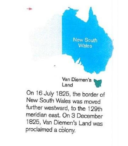 Border of NSW is moved