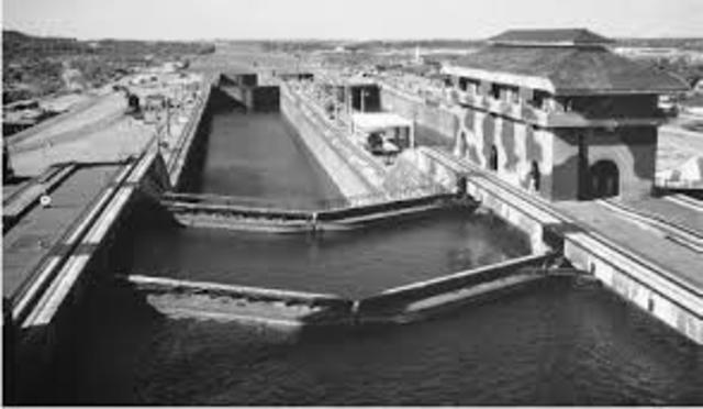 The Creation of the Panama Canal
