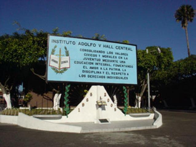Primer Congreso Nacional de Educación y Fundación del Adolfo V. Hall Central