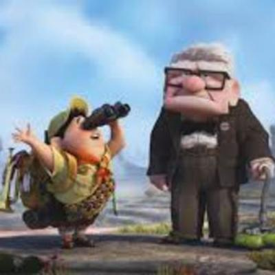 """Emily's awesome timeline on the movie """"Up"""""""
