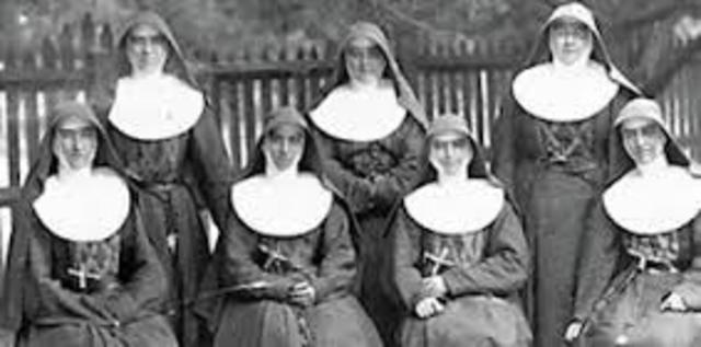 Irene joined the Sisters of St Joseph