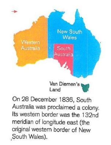 south australia is proclaimed a colony