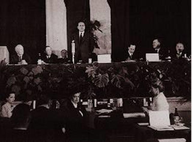 Biosphere Conference, París 1968 y el concepto :Desarrollo Ecológicamente Sustentable.