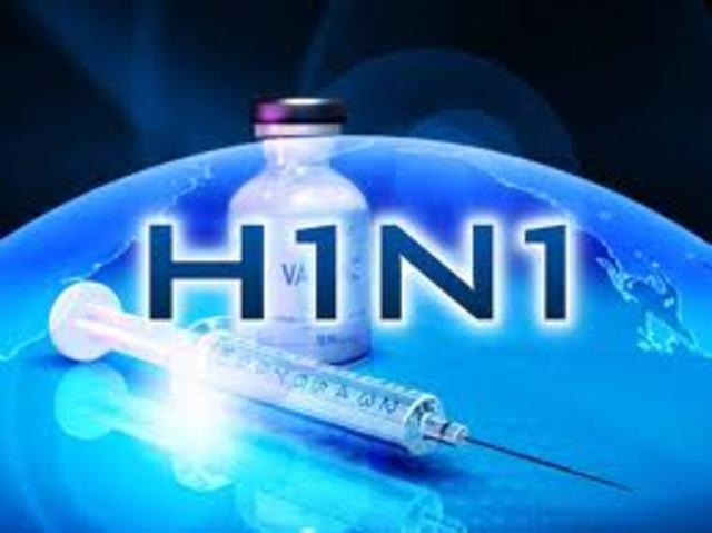 en mexico aparece un brote de gripe porcina. posteriormente llamada H1N1