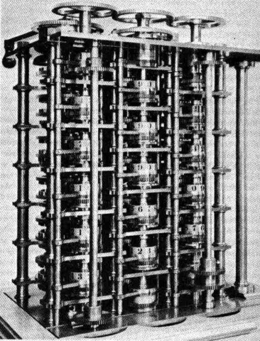 Maquina diferencial de Babbage