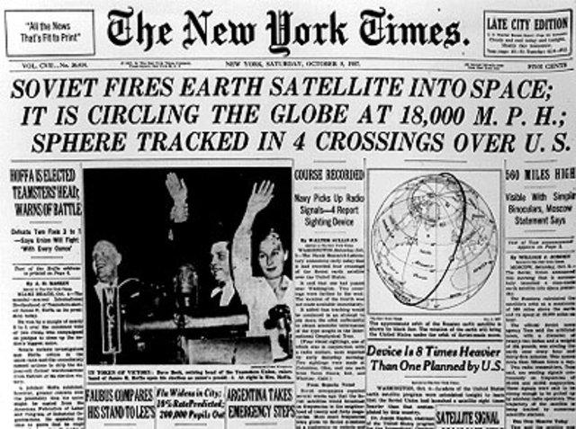 The Sputnik 1 Launch