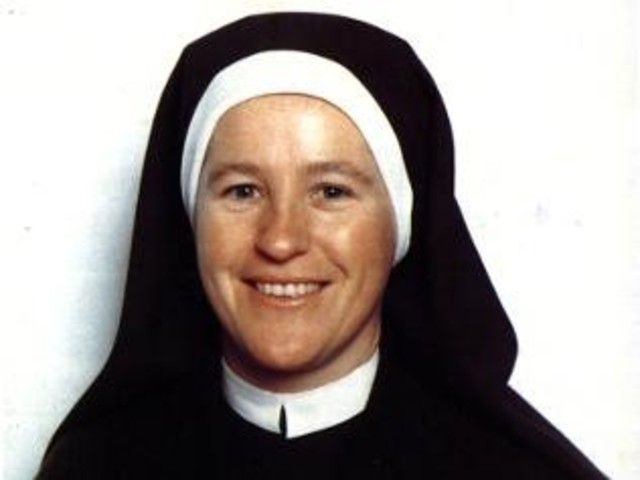 Sr Irene became a novice and took vows