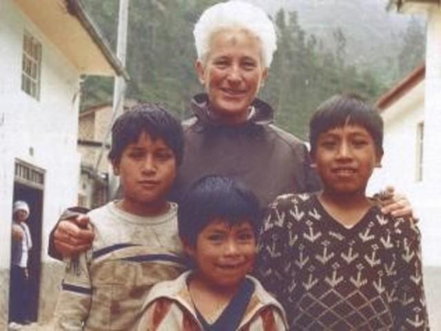 Sr Irene went to Peru