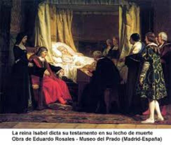 Muere Cristóbal Colón en Valladolid.