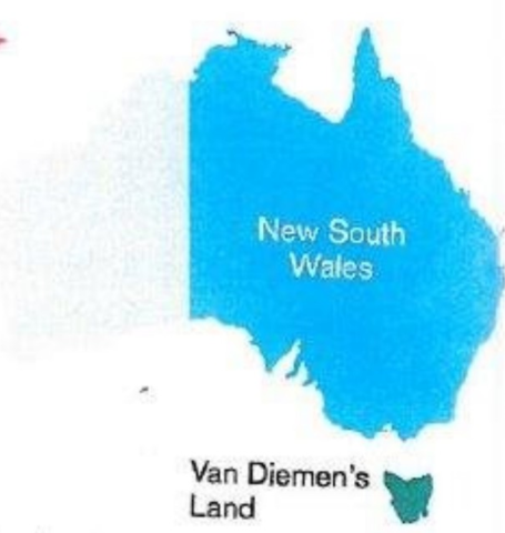 Border of New South Whales was expanded