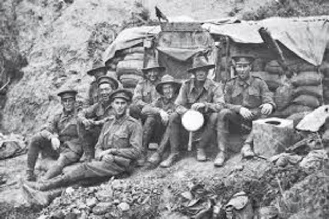 JIm Martin Lands in Gallipoli