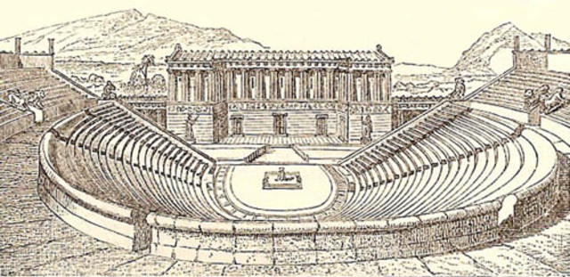 ancient greek drama Comedy, tragedy, satire the ancient greeks loved live theatre every town had at least one open air theatre these theatres attracted crowds of 15,000 people.