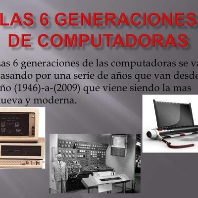 las generaciones del computador timeline