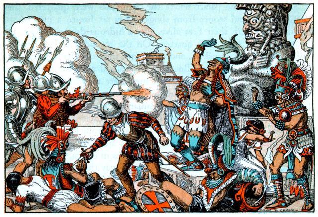 Caída de Tenochtitlán.