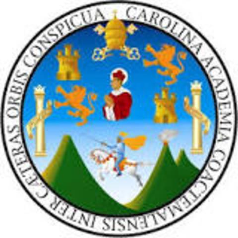 Fundación de la Universidad de San Carlos de Guatemala,