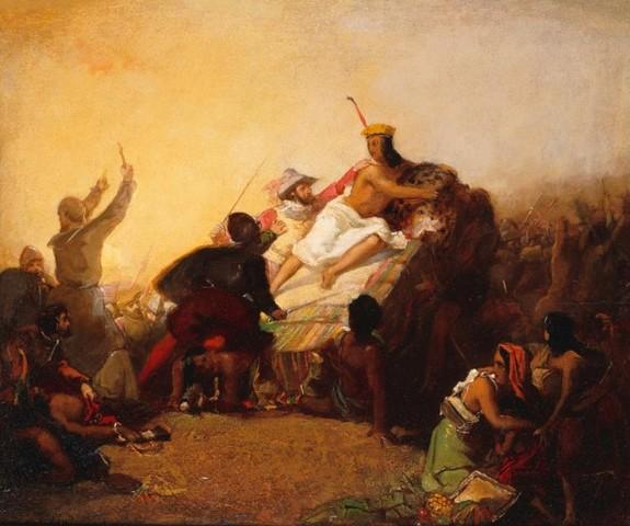 Partida de Panamá y muerte del Inca Atahualpa