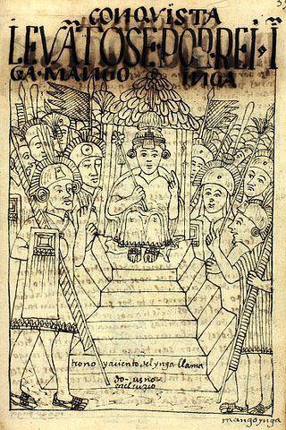Dominación española sobre Cuzco y coronación de Manco Capac II