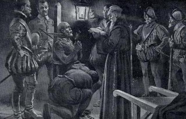 Ejecución de Almagro por Pizarro