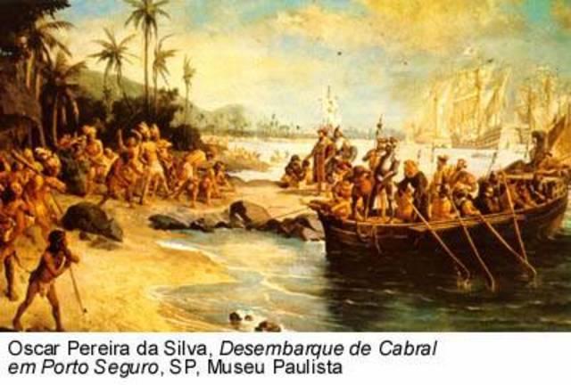 Llegada de la corona portuguesa a Brasil