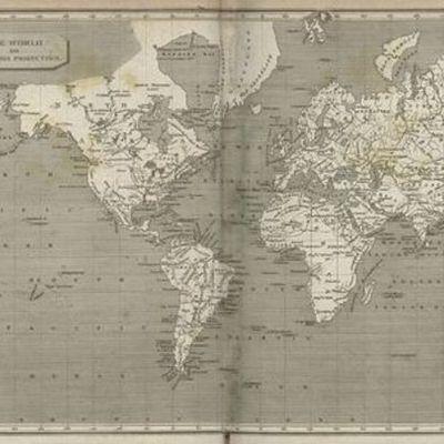 História da Biogeografia timeline