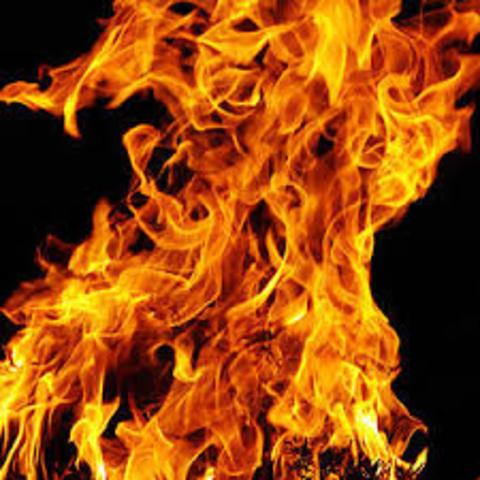 Descubrimiento del fuego 700000 antes de Cristo