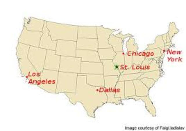 Missouri Ipl Stately Knowledge Facts About The United States - Missouri on the us map
