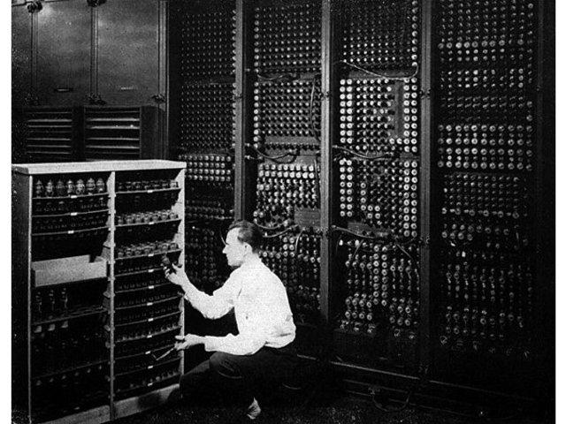 ENIAC: 1° computadora electrónica