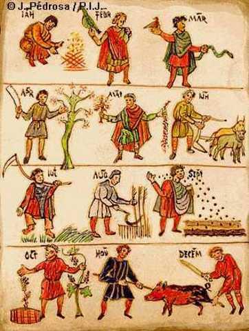 EDAD MEDIA AÑO 476 D.C