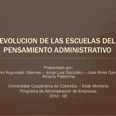 Mi Timeline Karla Jandres de Evolucion del Pensamiento Administrativo