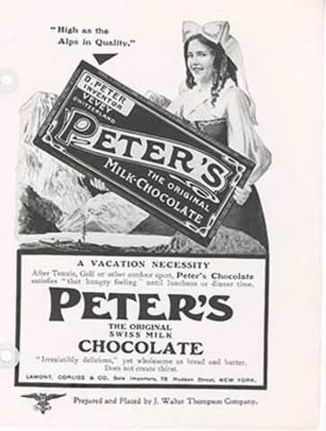 DE CHOCOLATES PETER'S CAILLER, KOHLER SWISS COMPANY A NESTLE