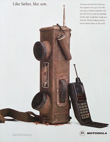 APARICION DEL TELEFONO CELULAR