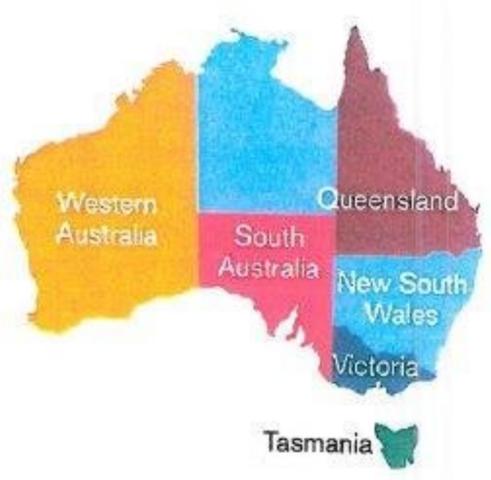 South Australia was made a colony
