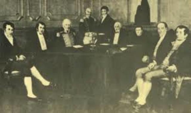 1° junta de gobierno