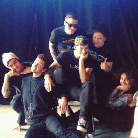 Touring With Fall Out Boy