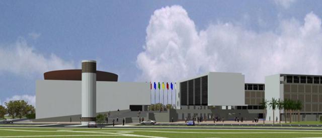 Construcción de la nueva sede