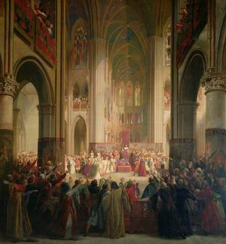King Louis XVI calls the Esates-General