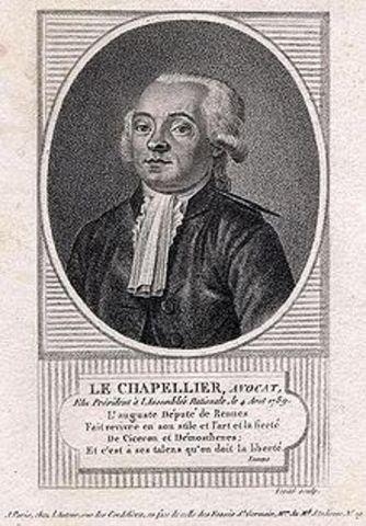 Ley de chapellier