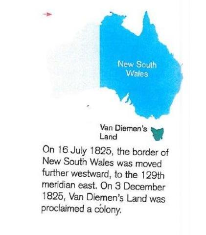 NSW was moved Westward
