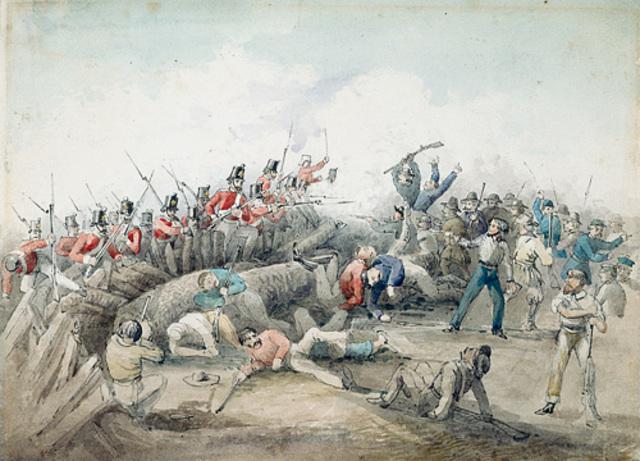 The Eureka Stockade Began