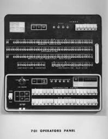 Computadoras de tarjetas perforadas.