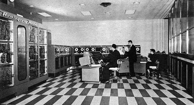 Construccion de UNIVAC I