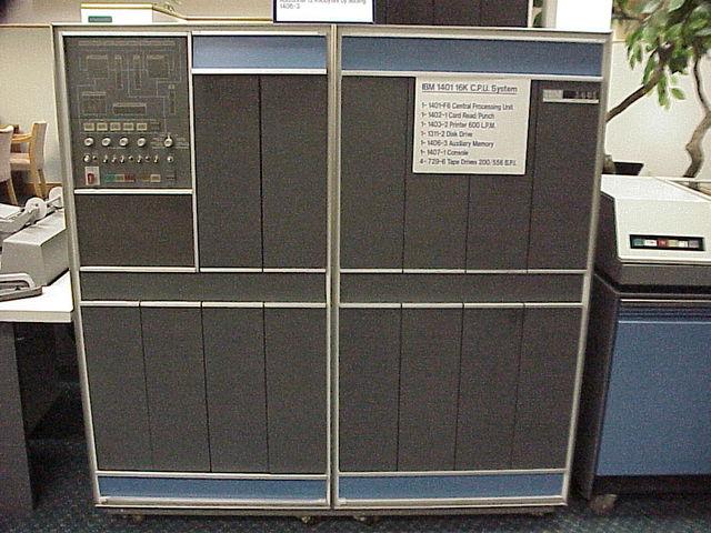 Lanzamiento IBM 1401