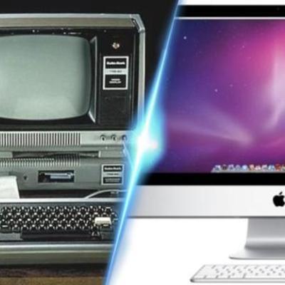 Cinco Generaciones de Computadoras timeline