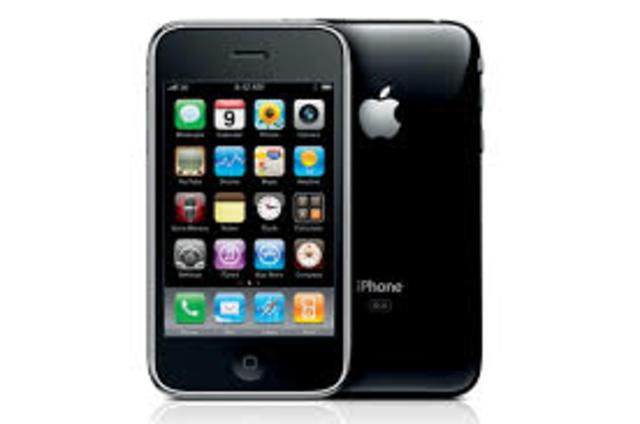 Aparicion de el primer Iphone