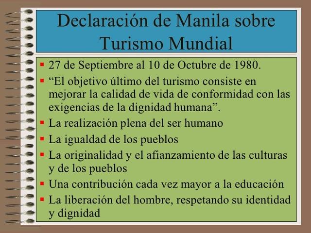 Declaración de Manila