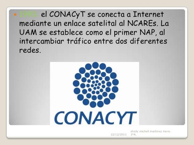 CONACyT establece el primer enlace a Internet vía Satelital