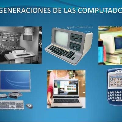 Cinco Generaciones de las computadoras timeline